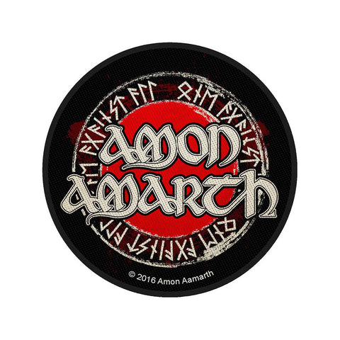 Amon Amarth - Patch - Woven - UK Import - Logo Circular - Collector's Patch