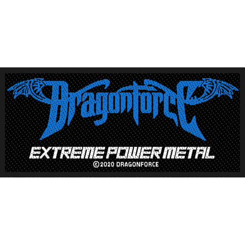 Dragonforce - Patch - Woven - UK Import - Extreme Power Metal - Collector's Patch