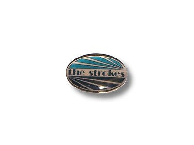 The Strokes - Oval Metal & Enamel Stick Pin