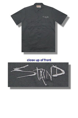 Staind - Charcoal Logo Work Shirt
