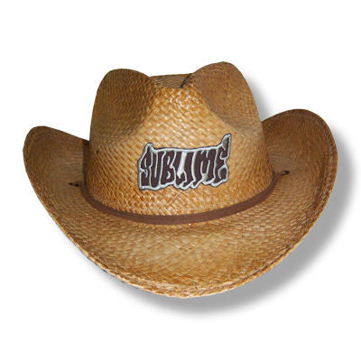 Sublime - Logo Straw Cowboy Hat