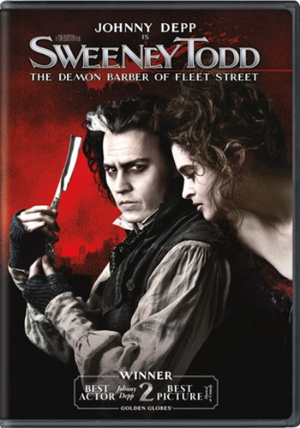 Sweeney Todd - The Demon Barber Of Fleet Street - 2007/2017 - DVD Or Blu-ray