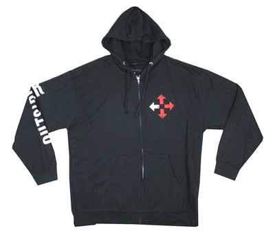 Three Days Grace - Outsiders Arrow - Zip Up Hoodie