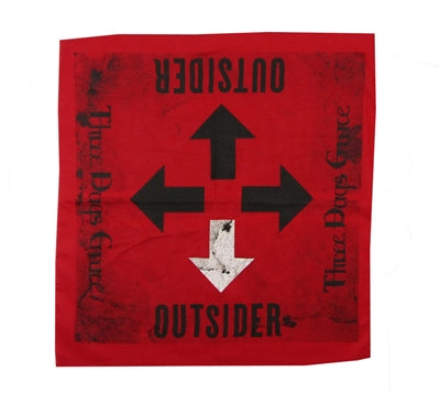 Three Days Grace - Outsider - Bandana