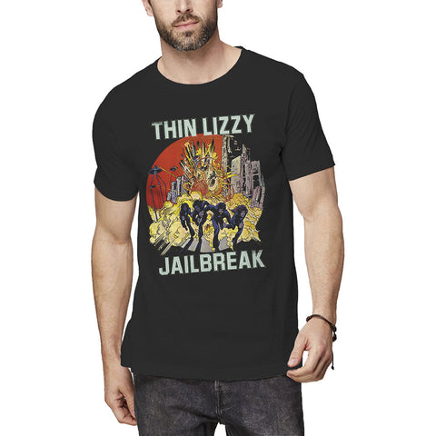 Thin Lizzy - Jailbreak Explosion T-Shirt (UK Import)