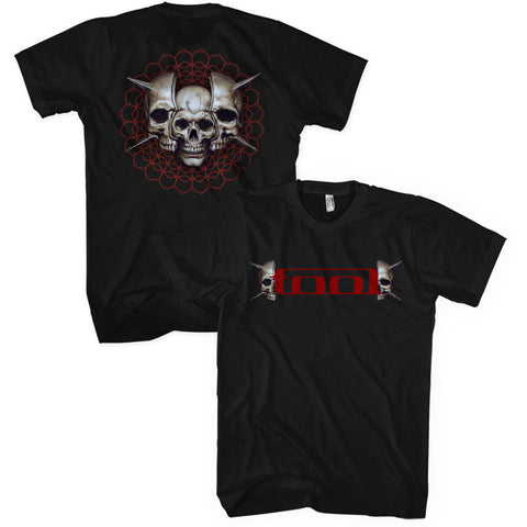 Tool - Skull Spikes Logo T-Shirt (UK Import)