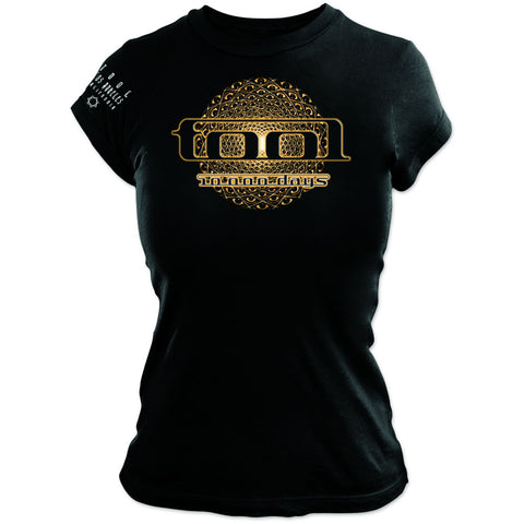 Tool - Eye Geo Glow Logo Ladies Girly Tee (UK Import)