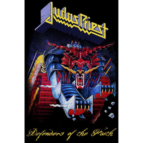 Judas Priest - Defenders Of The Faith - Textile Poster Flag (UK Import)