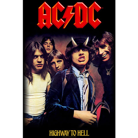 AC/DC - Highway To Hell Textile Poster Flag (UK Import)