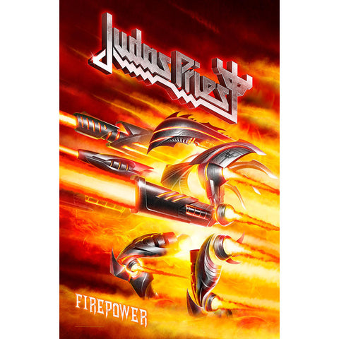 Judas Priest - Firepower - Textile Poster Flag (UK Import)