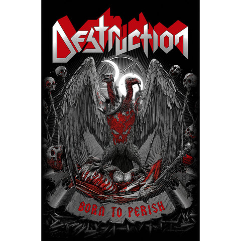 Destruction - Born To Perish - Textile Poster Flag (UK Import)