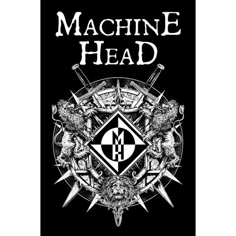 Machine Head - Crest - Textile Poster Flag (UK Import)