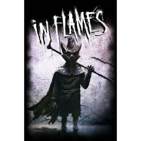 In Flames - I, The Mask - Textile Poster Flag (UK Import)
