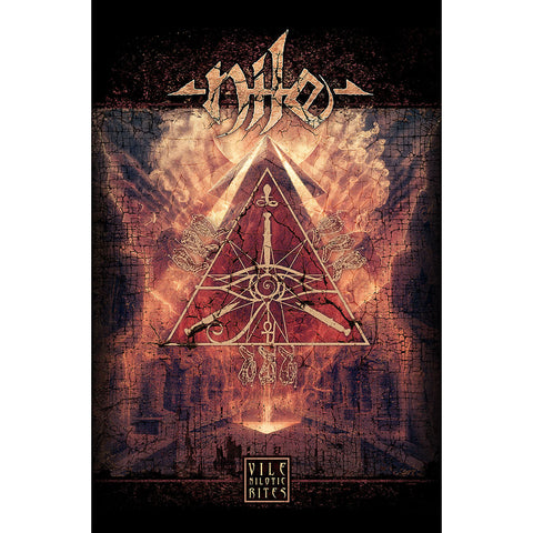 Nile - Vile Nilotic Rites - Textile Poster Flag (UK Import)