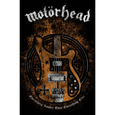 Motorhead - Lemmy's Bass - Flag - Textile Poster Flag (UK Import)