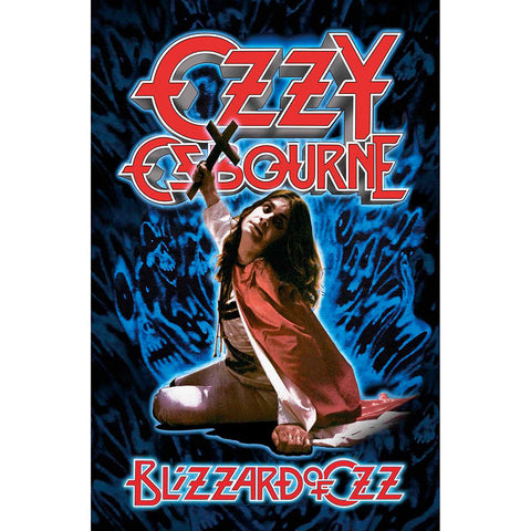 Ozzy Osbourne - Blizzard Of Oz - Textile Poster Flag (UK Import)