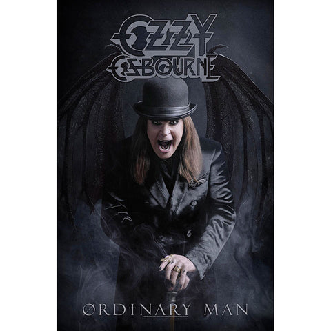 Ozzy Osbourne - Ordinary Man - Textile Poster Flag (UK Import)