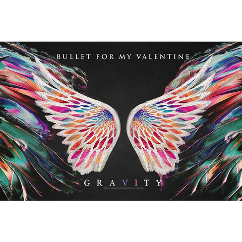 Bullet For My Valentine - Gravity - Textile Poster Flag (UK Import)