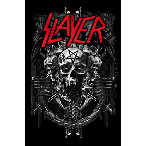 Slayer - Demonic - Textile Poster Flag (UK Import)