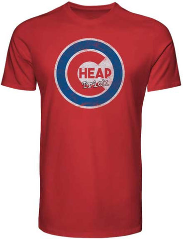 Cheap Trick - Baseball Logo T-Shirt