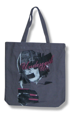 Underoath - Girl Head Tote Bag