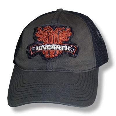 Unearth - Crest Patch Truckers Cap