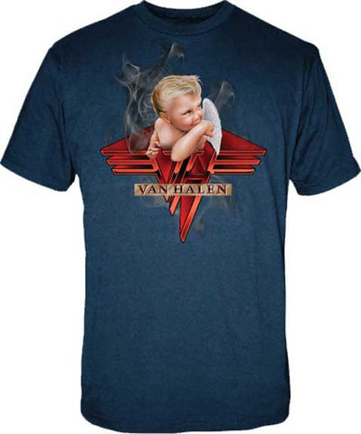 Van Halen - Smoking Navy T-Shirt
