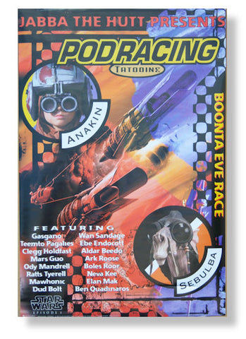 Star Wars - Pod Racing Rolled - Poster