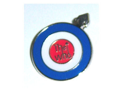 The Who - Metal Target Pin