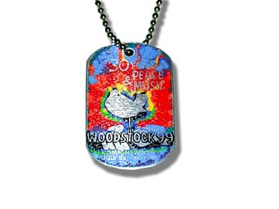 Woodstock 99 - Dog Tag Necklace