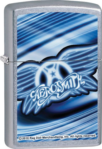 Aerosmith - Chrome - Flip Top - Zippo Lighter