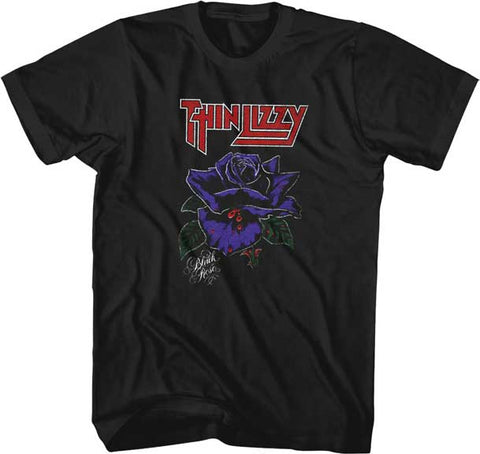 Thin Lizzy - Black Rose T-Shirt