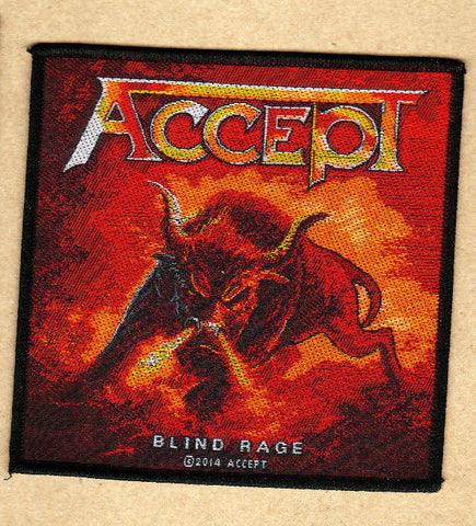 Accept - Patch - Woven - UK Import - Bull - Collector's Patch - Licensed New