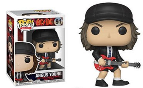 AC/DC - Angus Young - Vinyl Figure - Licensed New In Window Display Collector Box