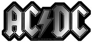 AC/DC - Sticker - Chrome Bolt Logo [6 inches]