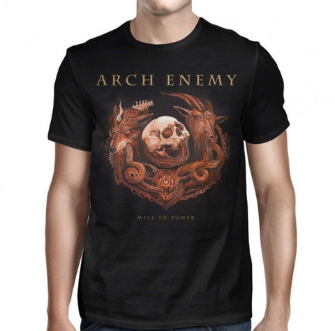 Arch Enemy - Will To Power Album Cover T-Shirt
