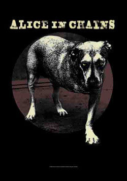 Alice In Chains - Dog Poster Flag