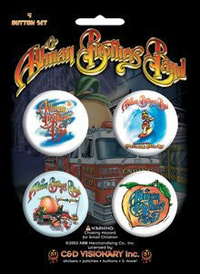 Allman Brothers - Button Set
