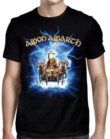 Amon Amarth - Thor Crack The Sky T-Shirt