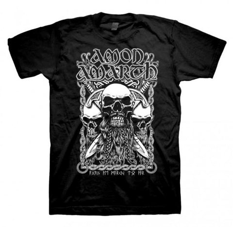 Amon Amarth - Bearded Skull T-Shirt