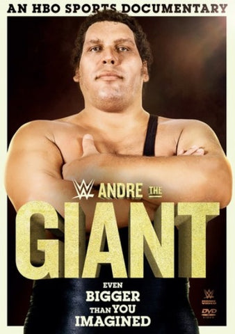 WWE - Andre The Giant - HBO Sports Documentary DVD