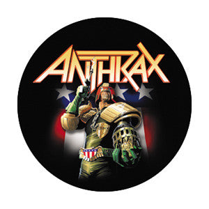 Anthrax - Button - Pack Of 2