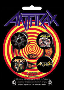 Anthrax - Button Set