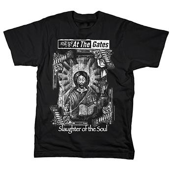 At The Gates - Slaughter Of The Soul White Art - T-Shirt
