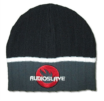 Audioslave - Black & Gray Textured Beanie