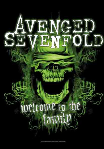 Avenged Sevenfold - Welcome To The Family Flag