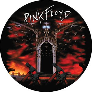 Pink Floyd - Hammers Pinback Button (Pack Of 2)