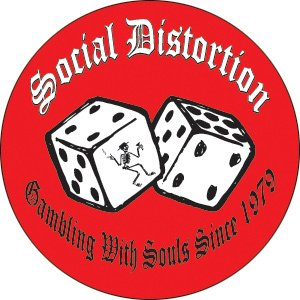 Social Distortion - Dice Pinback Button (Pack Of 2)