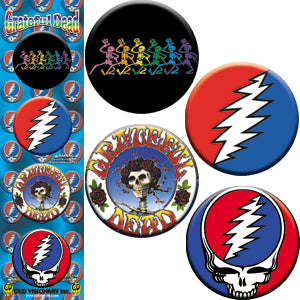 Grateful Dead - Button Set
