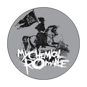 My Chemical Romance - Logo Pinback Button (Pack Of 2)
